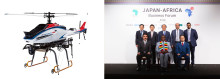 Yamaha Motor Holds Evaluation Trial of Industrial-Use Unmanned Helicopters in Kenya