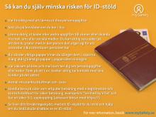 mySafetys tips för att försvåra en identitetsstöld
