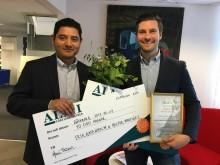 Cellink-grundare vinnare i länsfinal och nominerade till riksfinalen i uppfinnarpriset SKAPA!