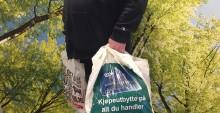 Næringslivet tar selv ansvar for plastbæreposene