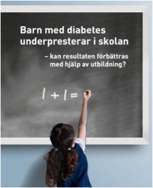 Pressinbjudan seminarium Almedalen: Barn med diabetes underpresterar i skolan
