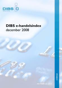DIBS e-handelsindex 2008