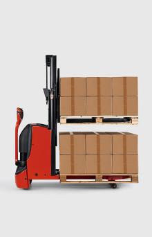 Vår nya dubbelpalltruck gör jobbet lättare och säkrare