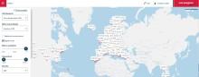 Norwegian lanseeraa digitaalisen lämpötilakartan