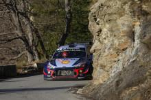 Tuff inledning på 2018 WRC för Hyundai Motorsport i Rallye Monte-Carlo
