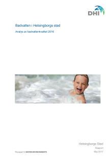 Badvatten i Helsingborgs stad