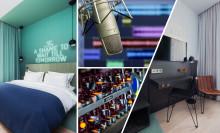 Comfort Hotel Karl Johan blir Nordens første hotell med musikkstudio