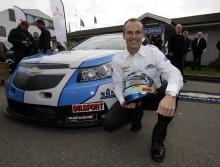 Chevrolet storsatsar på STCC med Rickard Rydell