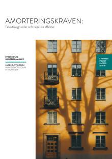 Lars E.O Svensson - Amorteringskraven: Felaktiga grunder och negativa effekter