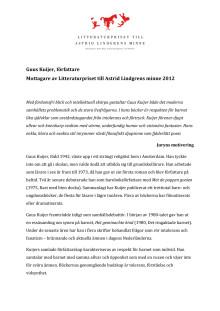 Presentation: Guus Kuijer sv