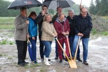 Första spadtaget för Arbogas nya vård- och omsorgsboende