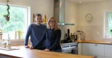 Familjen Alexandersson fastnade för fjärrvärme