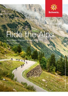 Flyer Ride the Alps