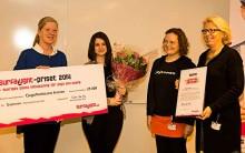 Tjejzonens Storasystrar vinnare av Surfa Lugnt-priset 2014
