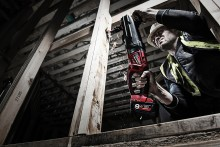 MILWAUKEE® M18 FUEL™ SUPER HAWG® BORER HULL MED DIAMETER PÅ 152 MM.