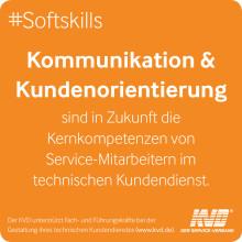 IT-Kenntnisse, Kundenorientierung und Kommunikationsfähigkeit müssen Service-Mitarbeiter in Zukunft mitbringen
