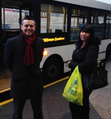 Rochdale shuttle bus puts retailers on the right track