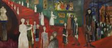 Monumental målning i konstmuseets samling