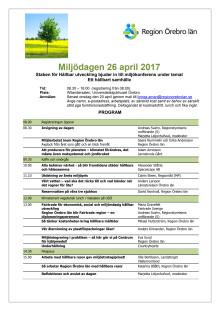 Program för miljödagen