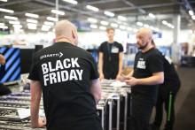 Black Friday kasvoi jälleen uusiin ennätyksiin: Gigantissa myynti 24,5 miljoonaa euroa, nettimyynnin kasvu + 24 %