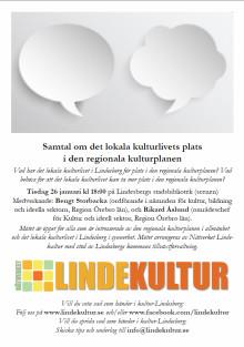 Frågor att diskutera på mötet om lokala kulturlivets plats i den regionala kulturplanen