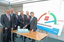 Mittelstandsbarometer 2017: Regionale Wirtschaft in glänzender Verfassung