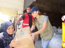 9,6 millioner kr. til nødhjælp i Syrien