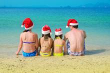 40 procent fler firar jul utomlands i dag
