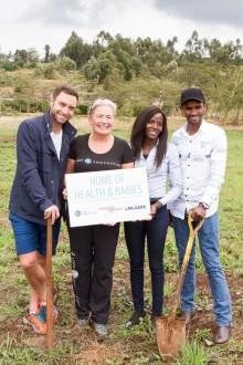 Zelmerlöw & Björkman Foundation, Lööf Foundation och Rejlers bygger tillsammans mödravårdsklinik i Kenya