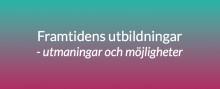 Pressinbjudan Järvaveckan: Dagens studenter om framtidens utbildning