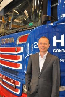Janko van der Baan fejrer 25-års Scania-jubilæum