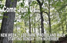 ​New guided walk through Chesham Wood and parkland