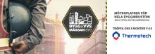 Thermotech ställer ut på Bygg & VVS-mässan Syd