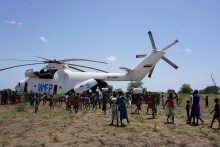 Mission Possible: Getting aid to South Sudan's children affected by war