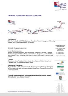 Factsheet Römer-Lippe-Route