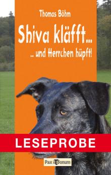 Leseprobe Buch: Shiva kläfft Pax et Bonum Verlag Berlin