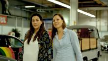 """""""Robutt"""" är Fords nya robotrumpa, byggd för att säkerställa hållbara bilsäten"""