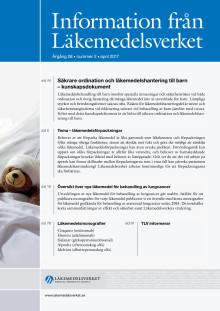 Information från Läkemedelsverket nr 2 2017