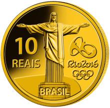 Brasiliens officiella OS-minnesmynt stöder nationell och internationell idrott