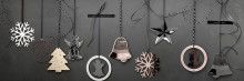 Rosenthal - Silver Collection Christmas Pendants