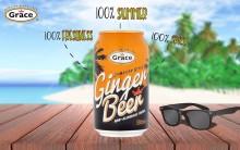 Grace Ginger Beer- Kryddstark läsk från Gray's