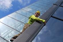 Imorgon fasadklättrar Said Belhaj på Gothia Towers i Göteborg!