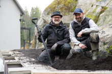 Bjørn bygger bo – Murt hagemur