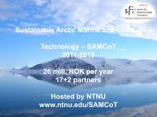 SAMCoTs presentasjon på NCEIs offshore-frokost