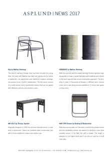 ASPLUND NEWS 2017- Products