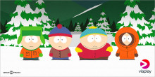 SOUTH PARK kommer til Viaplay