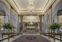 GLEAMING NEW LOBBY WELCOMES GUESTS AT THE GRAND HÔTEL