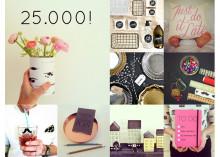 Lagerhaus når 25 000 följare på Instagram!
