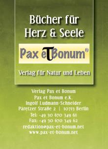 Berliner Verlag Pax et Bonum wird 2.Jahre