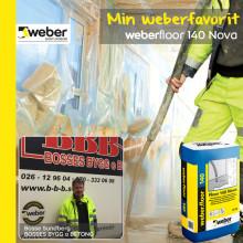 Weber floor 140 nova